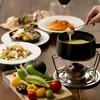 カフェ&ブックス ビブリオテーク - 料理写真:チーズフォンデュプラン (2,750円/2名さま〜)