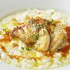 ミア・アンジェラ - 料理写真:【9月10月おすすめ】フォアグラをのせたチーズリゾット
