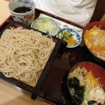 そば処・司 - 料理写真:カツ丼セット。