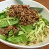 マリモ - 料理写真:残業メシの〆は、冷やし担々麺。