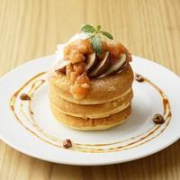 花田さんちの「とよみつヒメ」づくしのいちじくパンケーキ