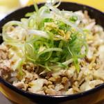 ラーメン 巌哲 - 豚マヨ丼
