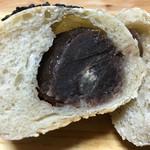 自家培養醗酵種パン 侭 - 右上の「あんぱん」…粒あんが美味しい♫