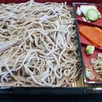手打そば 葉菜 - 料理写真:石臼挽き手打ちざるそば:860円/2016年8月