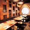 恵比寿さばと鶏白湯スープ炊き餃子 天神酒場ぬくぬく家 - 内観写真: