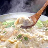 ・博多第5の新名物鶏白湯スープ炊き餃子
