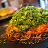 お好み焼き kate-kate - 料理写真:そば・肉・玉子・ねぎかけ
