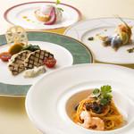 レストラン アンソレイユ - 【9月】パスタ付ランチコース 「ブランシェ 」