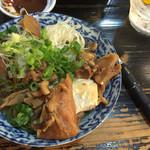 串屋横丁 - うま煮豆腐 580円