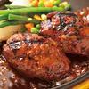キングコング - 料理写真:アツアツの鉄板で! 牛100%のキングコングハンバーグ