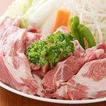 ホルモン・ジンギスカン たたら - 料理写真:▲ジンギスカンは全て新鮮【生ラム】
