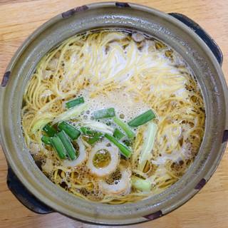 橋本食堂 - 料理写真:なべ焼ラーメン