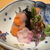 有 - 料理写真:雲丹の烏賊巻き(2016,7)