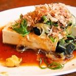 白楽天 - ピータンの香り豊かな前菜
