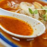 味の三平 - スープ