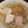 麺匠ぼんてん - 料理写真:塩らーめん:700円/2016年9月
