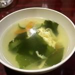Chuugokukateiryouriyan - スープ