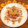 カフェ パンプルムゥス - 料理写真:9月限定★さつまいものパンケーキ