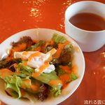 ダイニングJN - サラダとスープ