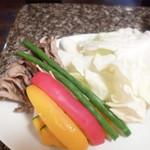 焼肉 金牛 - 野菜