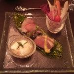 ラ・カロッツァ - ランチコース前菜