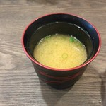 55621414 - 味噌汁