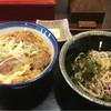 なだ市 - 料理写真:カツ丼+冷たいお蕎麦(750円)