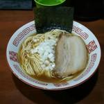 麺や 而今 - 三段仕込み(750円)
