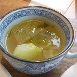 野菜畑 - ランチのスープ