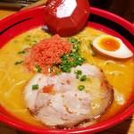 55637670 - あじわい・えびしおラーメン太麺(780円)です。2016年7月