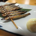 美味千成 - キビナゴ串
