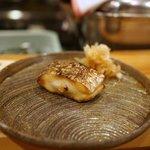 新ばし 久 - 太刀魚の醤油やき