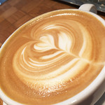 フェブラリーカフェ - カフェラテ