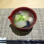 みつや - 鴨つみれと冬瓜のスープ煮1,000円+税 1/2シェア後