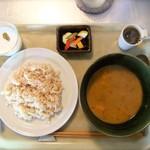 山食堂 - 豆と野菜のカレー♡