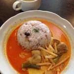 リスカフェ - 豚バラココナッツカレー