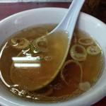 仙台や - 付け合わせのスープ