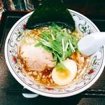 にぼらや - 『煮干しラーメン 小ぶりちゃん』様(680円)※〆にご飯付