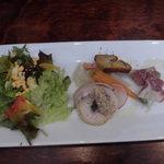 55663053 - ピッツアセットの農園サラダ。プチ前菜