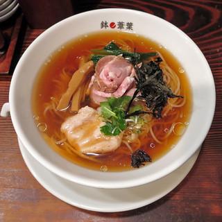 鉢ノ葦葉 - 料理写真:冷製醤油らーめん