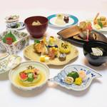 つきじ植むら 旬泉坊 - 料理写真:会席料理 蘭月 らんげつ