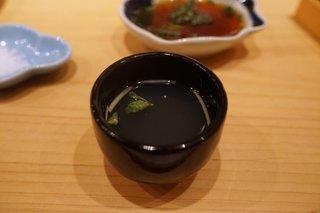 鮨 尚充 - お吸い物