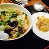 大陸食堂 - 料理写真:五目麺セットで〆る