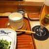 なだ万賓館 - 料理写真:プチビアー+先付け+茶碗蒸し