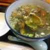 中華日和 - 料理写真:あさりと青のりのつゆそば