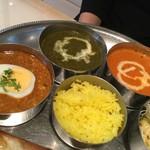 マサラ - ターリーランチの別カレー