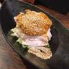 紅紅火火 - 料理写真:大山鶏のしっとり蒸し鶏(胡麻ダレ)