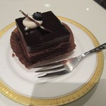 丸福珈琲店 - チョコレートケーキ