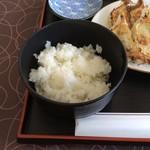 かさご浜松餃子 - ライス