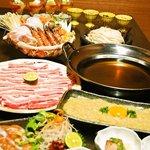 大人輝 - 流行の豚しゃぶ、美味しいモチ豚や地鶏が食べ放題の豚ちゃんこ鍋コース♪《平日限定》